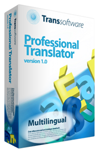 Transsoftware Professional Translator 1.0 Multilingual box